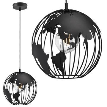 Подвесной светильник Globus Black White Grey