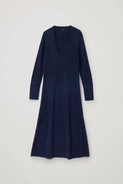 COS Sukienka, 100% wełna, rozm.36/S
