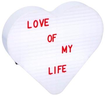 Подарок ко Дню святого Валентина Сердце с подсветкой на светодиодах