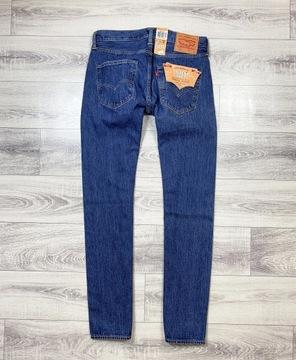 LEVIS 501 W31 L32 Spodnie Jeansowe Nowe Z Metką !