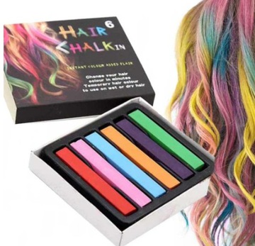 HAIR CHALK STRIPS paint APPLICATOR 12 K краска
