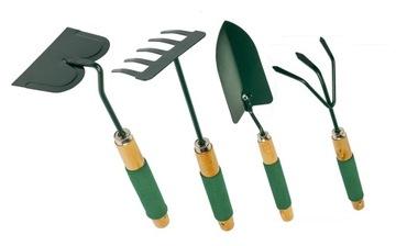Набор металлических садовых инструментов 4в1