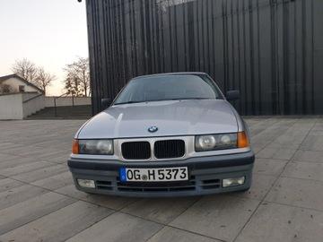 BMW Seria 3 E36 1991 BMW 3 (E36) 325 i 192 KM 2 wł skóra automat, zdjęcie 2