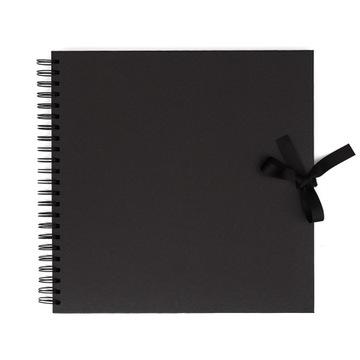 Альбом для скрапбукинга 30,5х30,5см Черный 40 листов