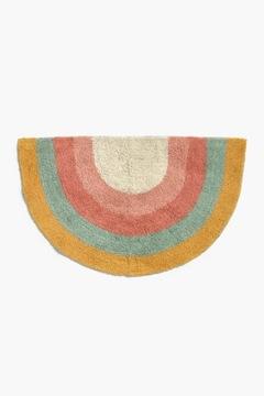 коврик красочный коврик хлопок детское радуга 45х80 бохо
