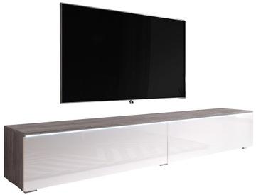 Современная тумба под телевизор 180см подвесная - BODEGA