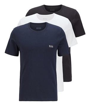 Koszulka męska T shirt HUGO BOSS 3 pack