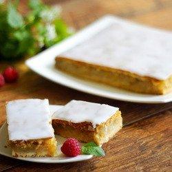 Пирог яблочный низкий 100 г - Дедушка Дедушка