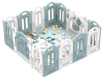 Детский модульный пластиковый манеж - сухой бассейн