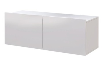 Тумба под ТВ белый глянец SOLID
