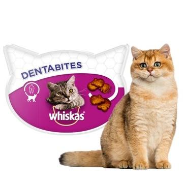 WHISKAS DENTABITES Delicacy Clean Teeth CAT 40гр.