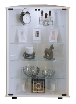 Купить Шкаф-витрина Jecka Угловой шкаф с 2 стеклянными дверцами на Otpravka - цены и фото - доставка из Польши и стран Европы в Украину.