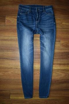 AX Armani RurkiSkinny Rurki Jeansy Jeans W28 M 38