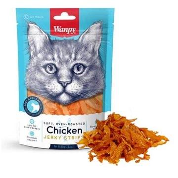 WANPY Delicacy for CAT CHICKEN полоски 80г