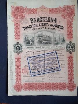 Barcelona Traction Light & Power, 1913 год