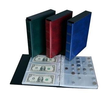 Клазер / Альбом SH для монет и банкнот в футляре