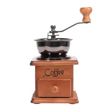 Деревянная кофемолка Бытовая ручная рукоятка для кофе