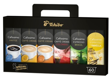 TCHIBO CAFISSIMO SPECIAL COLLECTION SET 60 капсул
