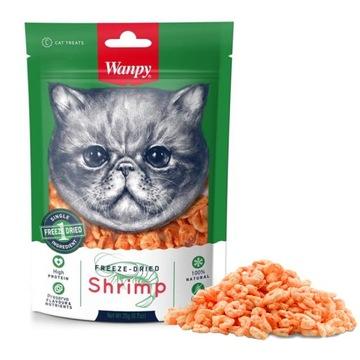 WANPY 100% сушеные креветки для кошки 20 г