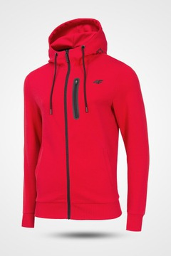 bluza czerwona meska z kapturem f4 139 99