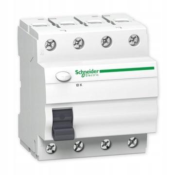 SCHNEIDER Автоматический выключатель остаточного тока 3-х фазный 4P 40A