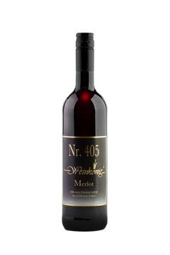 405 MERLOT - красное сухое безалкогольное вино.