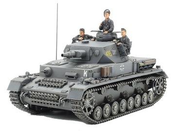 1/35 Pz.Kpfw. IV Ausf.F | Модель танка Tamiya 35374