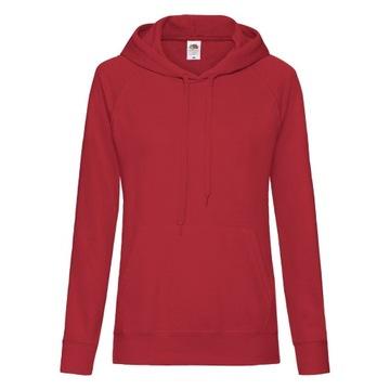 Czerwona bluza damska oversize w Bluzy damskie Allegro.pl