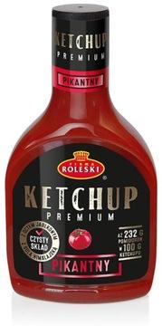 Кетчуп Roleski Premium острый 465г