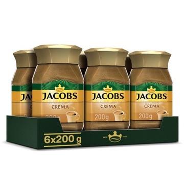Кофе растворимый Jacobs Crema 200 г x6