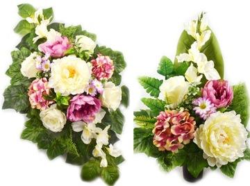 Надгробный головной убор из искусственных цветов для кладбища