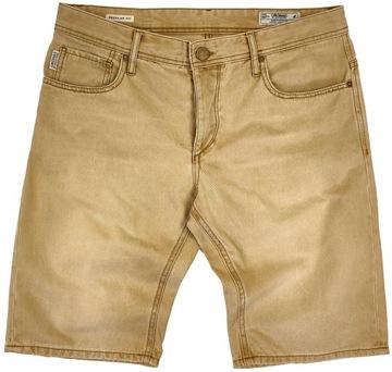 Spodenki męskie jeans JACK&JONES r. L