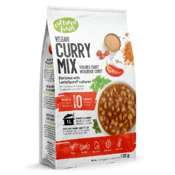 Веганское рагу CURRY Cultured Foods, 130г