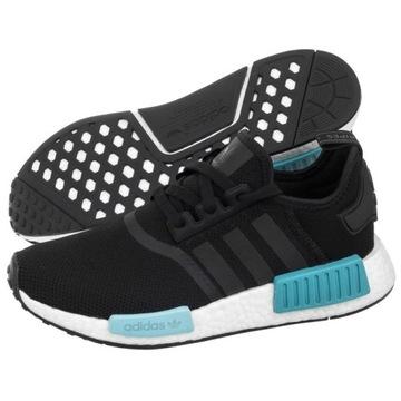 Buty Adidas Damskie NMD_R1 J CG6245 Nmd Czarne Ceny i opinie Ceneo.pl