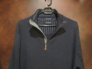 sweter męski kaszmir jedwab bawełna rozm. L TATUUM
