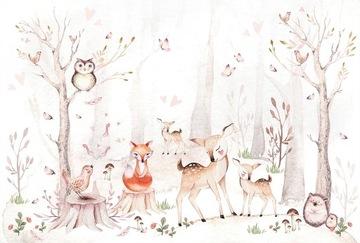 Животные обои, лесные животные trele 368x248