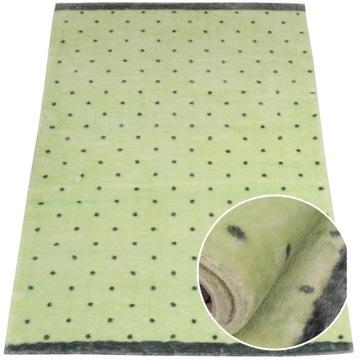 Детский коврик, мягкий, модный узор, 90х150 см, мята
