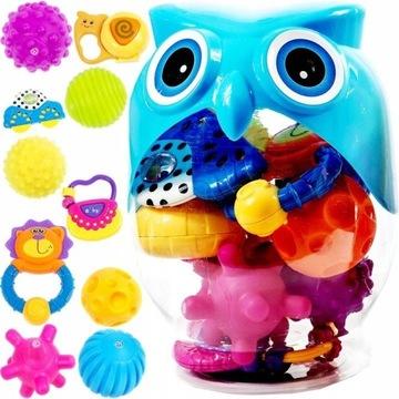 Отличный набор погремушек, игрушек для детей