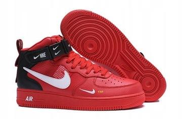Nike Air Force 1 Czerwone Niska Cena Na Allegro Pl