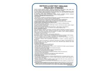 Руководство по охране труда и технике безопасности для слайсера - 25x35