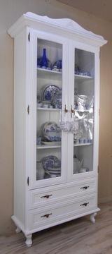 Купить Замечательная высокая витрина WHITE PROVANCE shabb LUDWIK + на Otpravka - цены и фото - доставка из Польши и стран Европы в Украину.