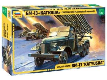 ЗВЕЗДА 3521 БМ-13 Ракетная установка