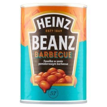 Бобы Heinz в томатном соусе барбекю 390 г