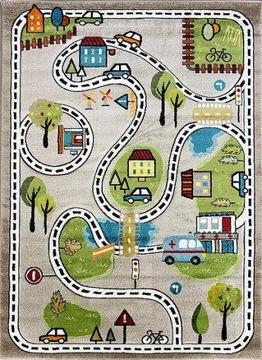 Детский ковер Smart Kids улицы улиц 160x230