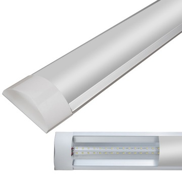ЛАМПА ПОВЕРХНОСТЬ LED 120см ДЛЯ ГАРАЖА как люминесцентная лампа
