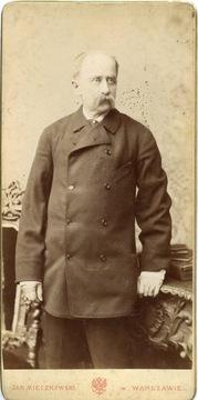 Пан Ян Мечковский ок. 1880 г. Размеры 10 х 20 см.