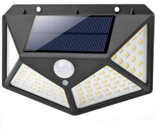 Солнечная лампа с сумеречным датчиком движения 100 LED
