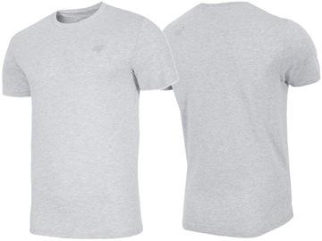 4F T-shirt KOSZULKA Męska TSM003 Bawełna SPORTOWA