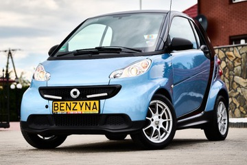 Smart Fortwo II Coupe Facelifting 1.0 mhd 61KM 2012