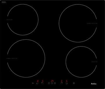 Amica MPI6540TU Индукционная варочная панель 4 FIELDS BLACK